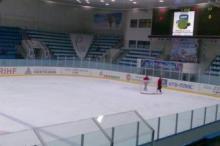 Каток во Дворце спорта на Московской
